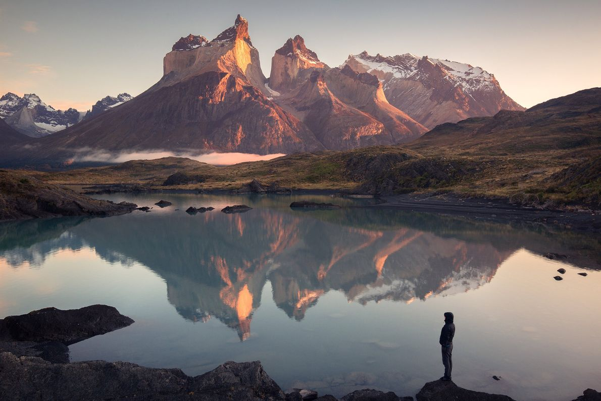 "Cuernos Del Paine, Chile. ""Stay close to anything that makes you glad you're alive. This was taken ..."