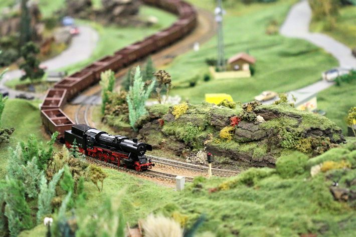 Inspired by similar principals in dolls houses, model railway sets were an ever-expanding toy which was rewarding ...