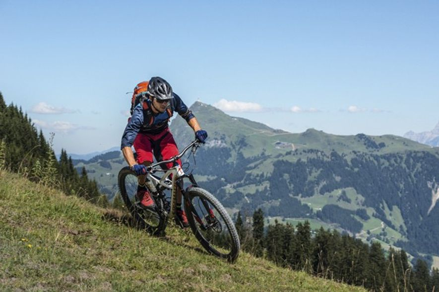 Kitzbuhel Bike Hahnenkamm. Credit: Michael Werlberger