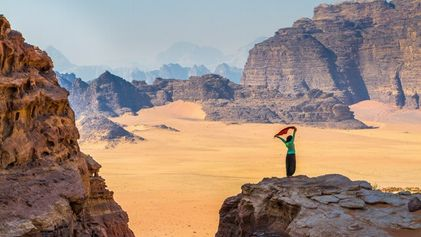 Want to walk the length of Jordan?