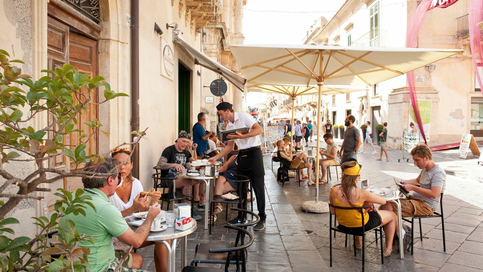 Caffè Sicilia, on Corso Vittorio Emanuele in the town of Noto, Sicily, is a hallowed spot ...