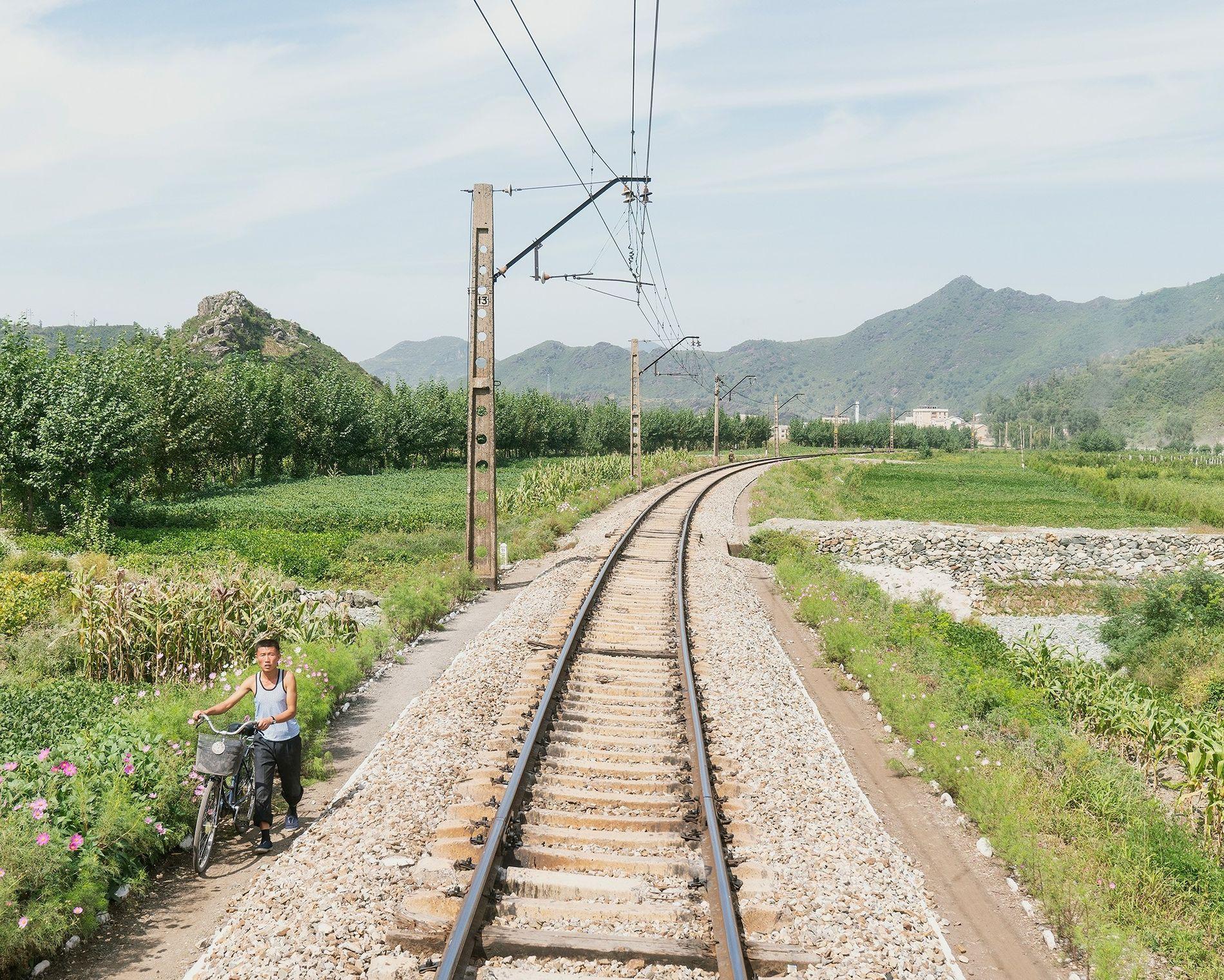 Take a train through North Korea's rarely seen countryside