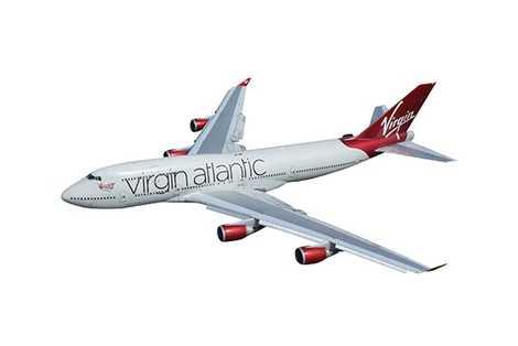 transatlantic flight time