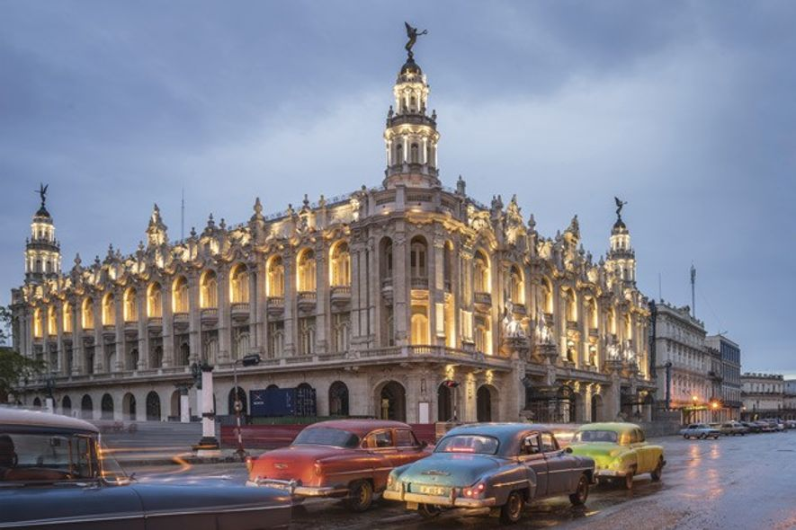 The Cuban National Theatre.