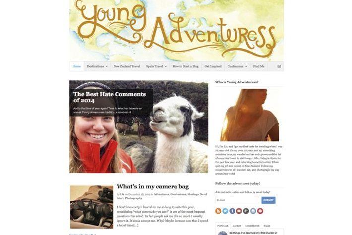 youngadventuress.com