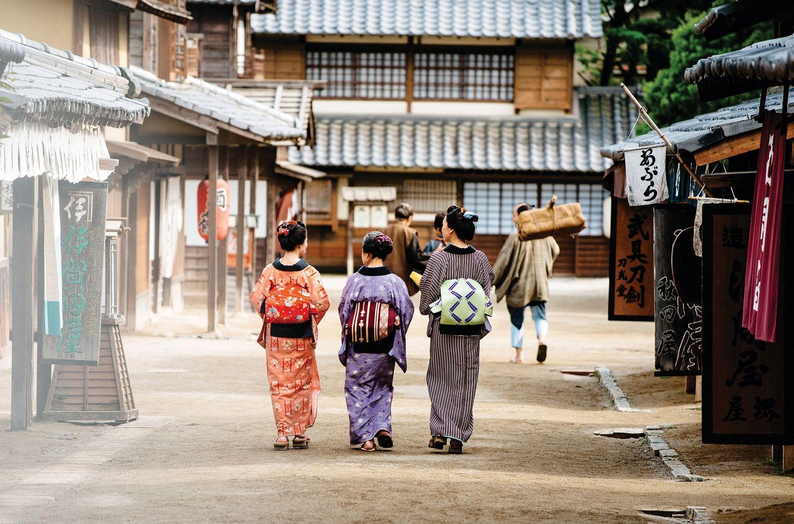 Geishas in Kyoto.