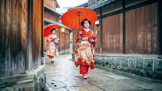 Maiko (apprentice geisha), Kyoto