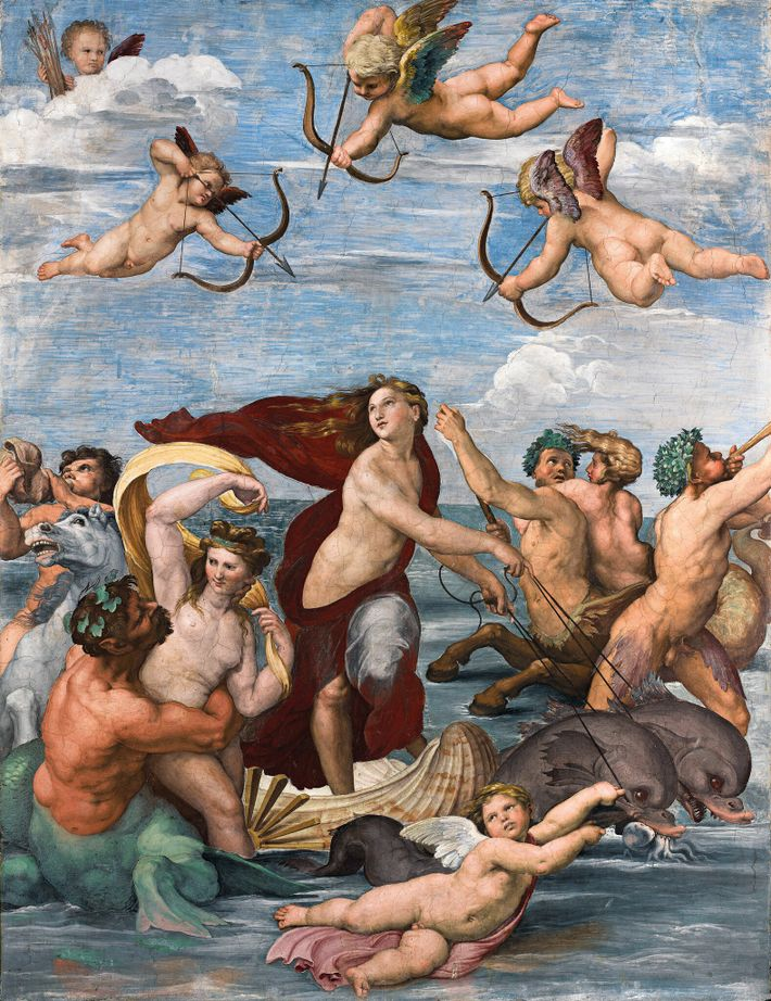 Raphael rarely forayed into mythology, but when his banker patron Agostino Chigi commissioned him to decorate ...