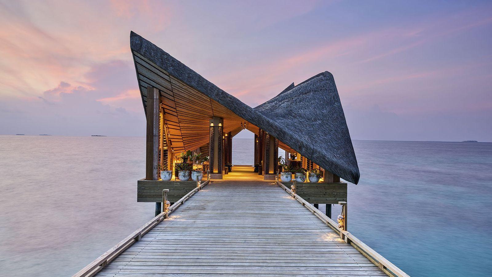 Jetty, Joali Maldives