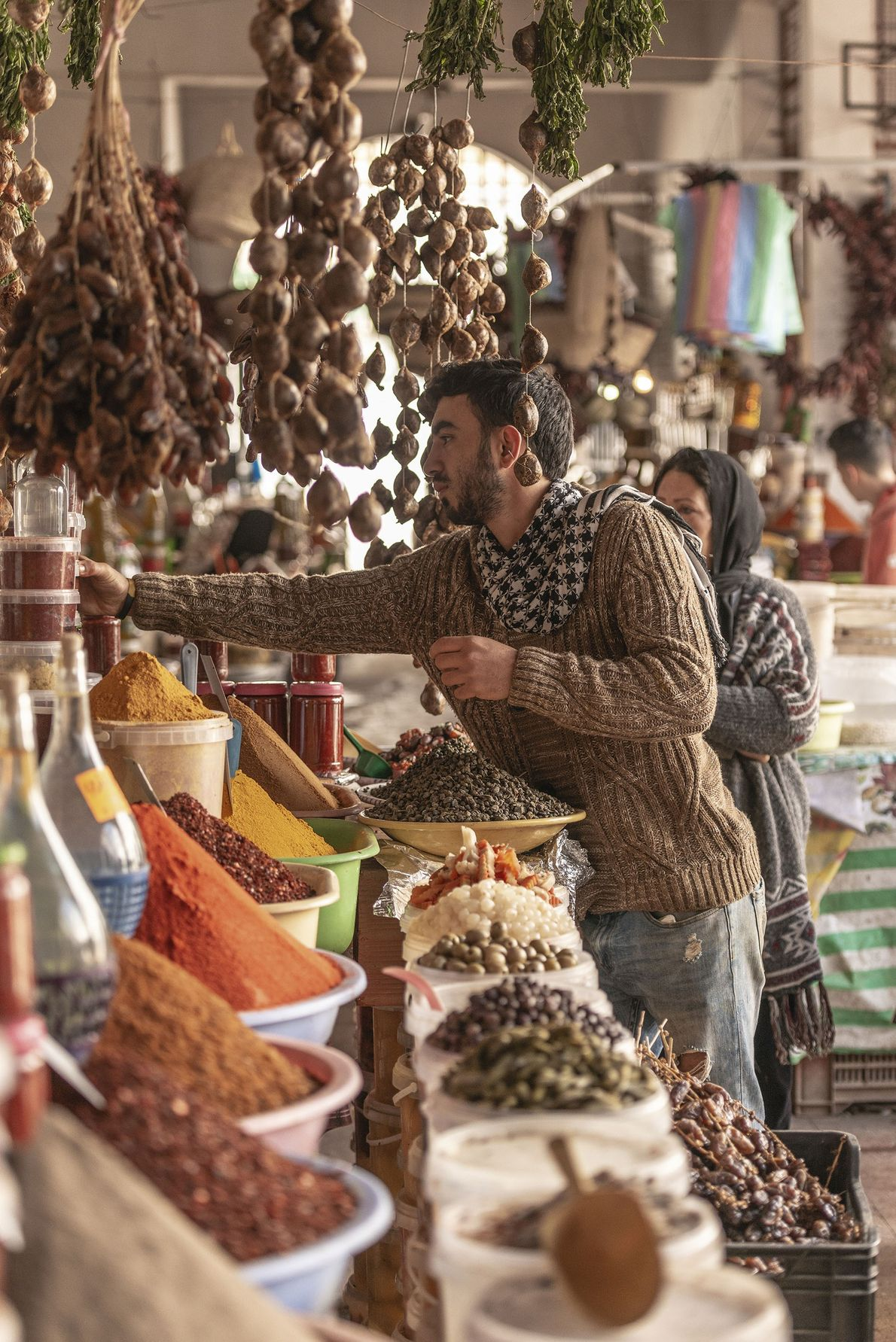 Spice market, Nabeul.