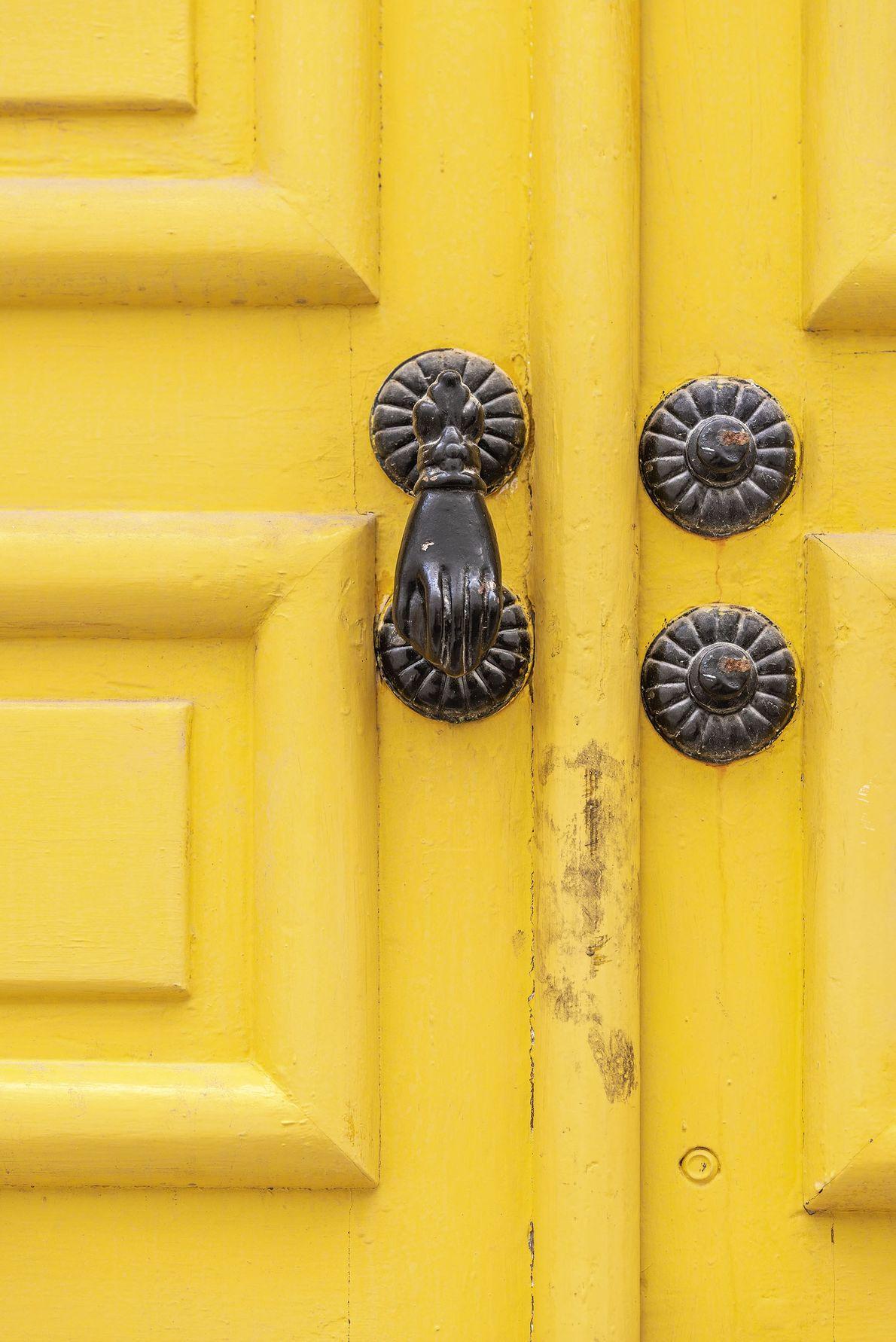 Traditional door, Nabeul.