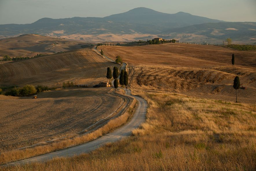 Take a road trip through Tuscany's breathtaking countryside