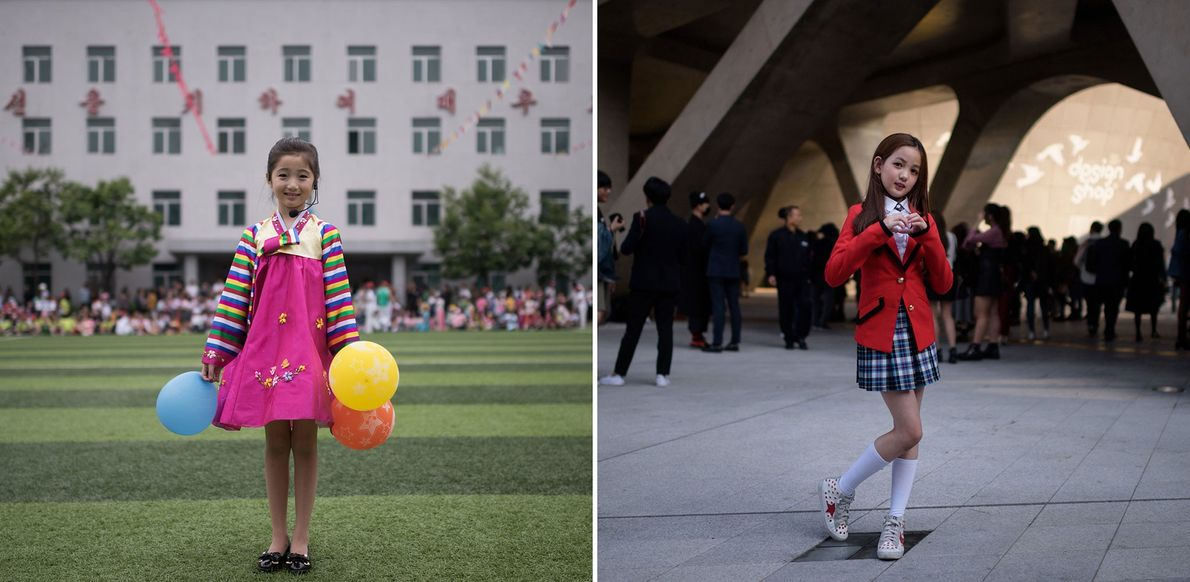 See Photos of Life Side-by-Side in North and South Korea