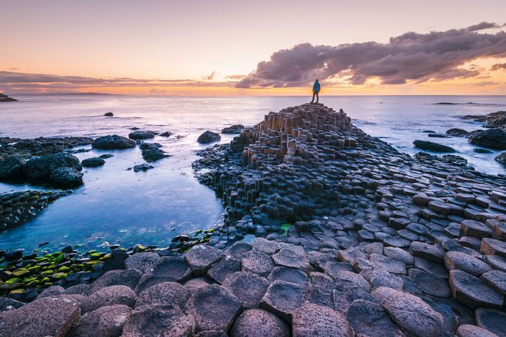 The Giant's Causeway in Northern Ireland is one of the world's most striking natural formations.