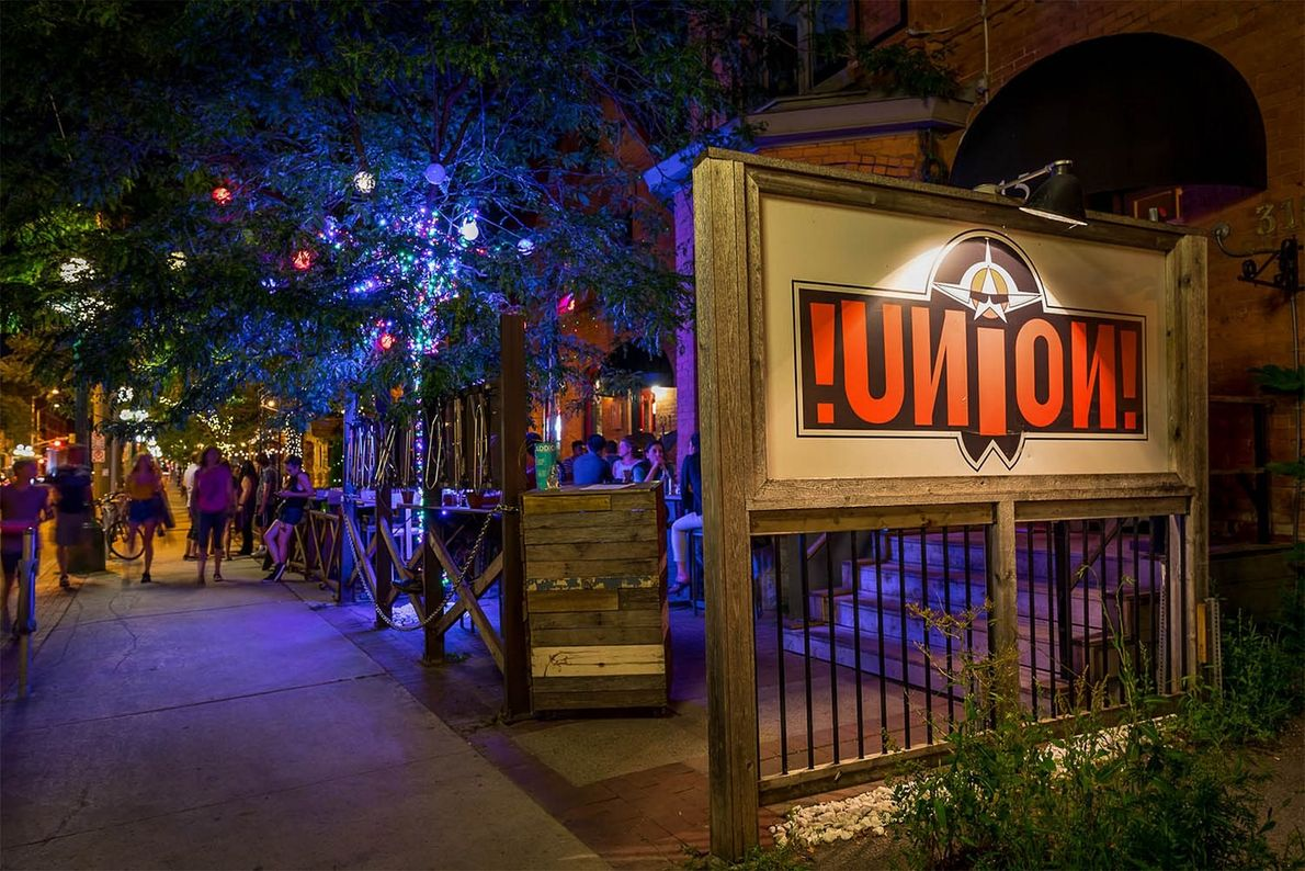 Union Local 613, a stylish restaurant and bar, also has a speakeasy in the basement.