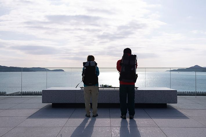 There are many memorial facilities where you can pray along the trail, such as The Iwate Tsunami ...