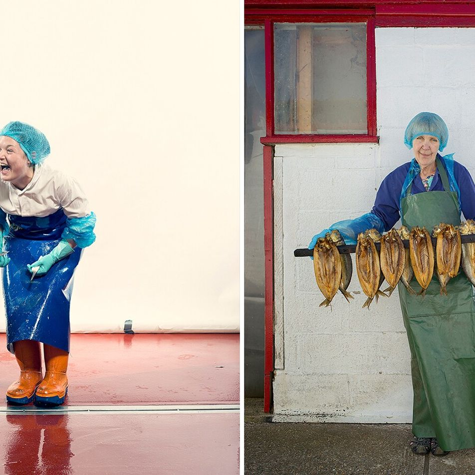 Photographing Britain's fisherwomen – the generations of workers who anchored an industry