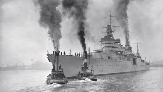 The U.S.S. Indianapolis was sunk by a Japanese submarine in 1945.