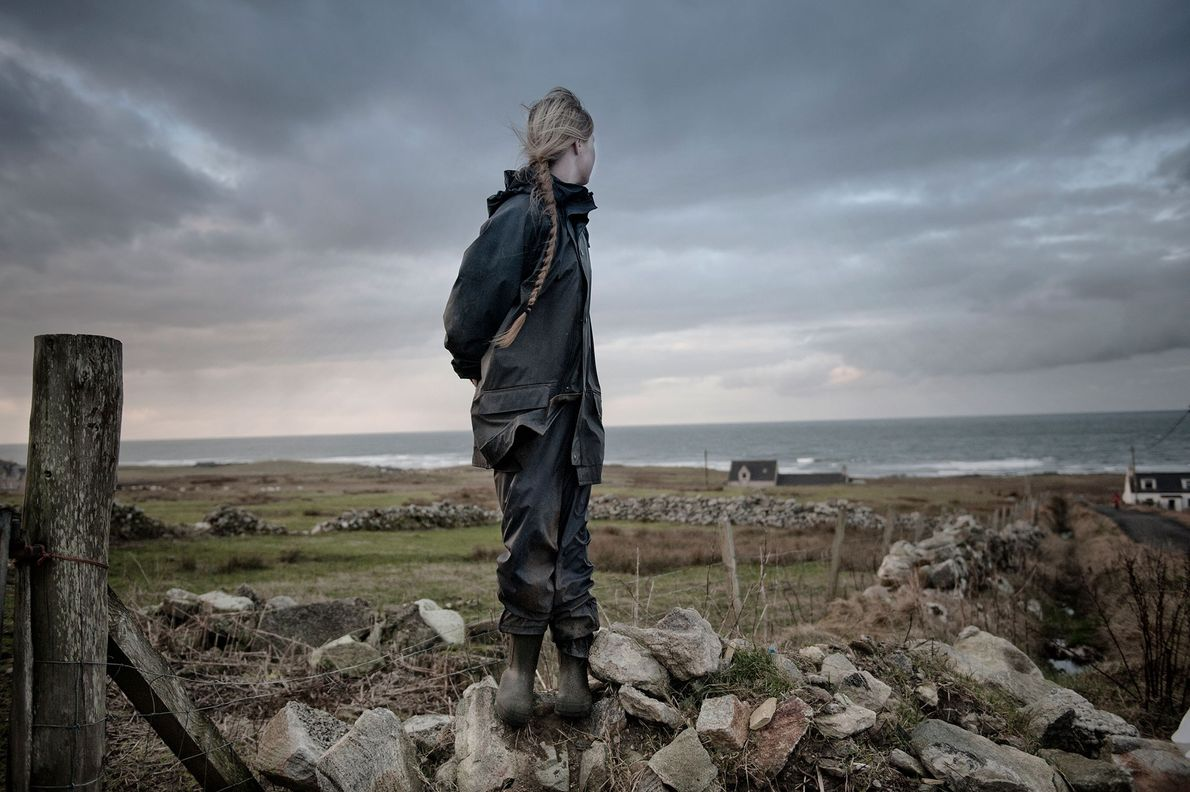 Anabee, 14, lives with her parents and three siblings on the Isle of Lewis. The children ...