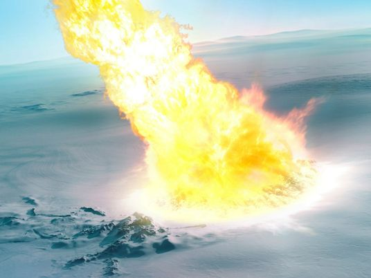 430,000 years ago a meteor exploded over Antarctica, leaving clues in the debris