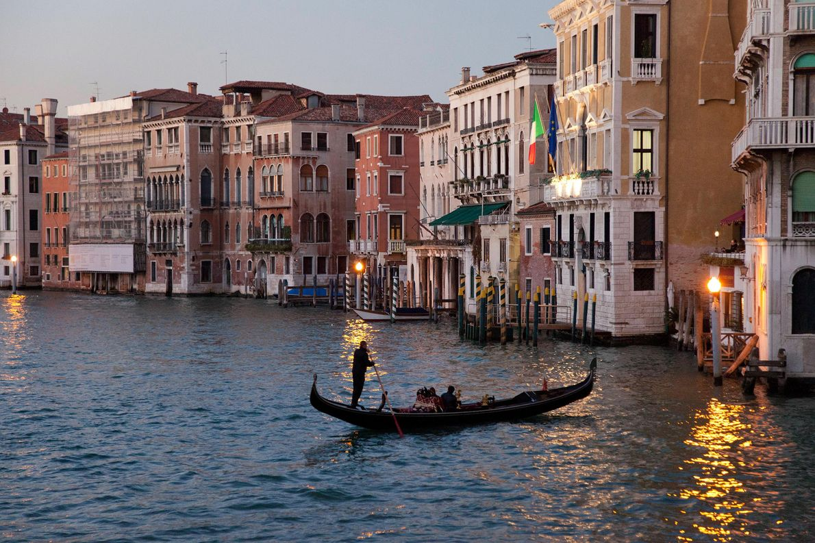 VENICE, ITALY Built on more than 100 small islands in a lagoon in the Adriatic Sea, Venice …