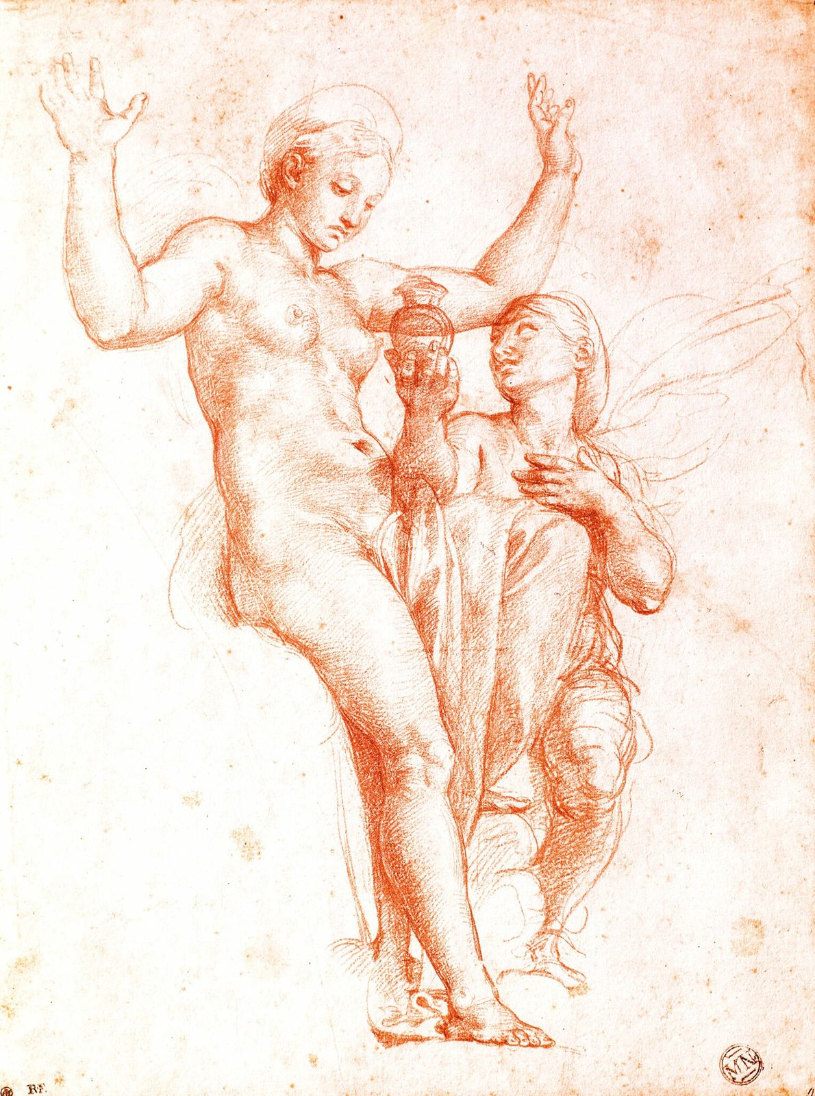 In 1518 Raphael returned to his friend's villa to design a room centered on the myth ...