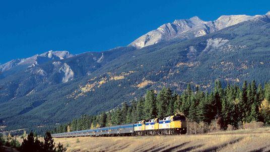 Journey Across Canada by Train