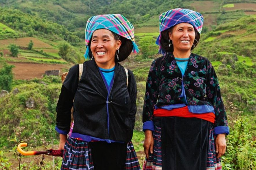Hmong tribe women, Vietnam. Image: Getty