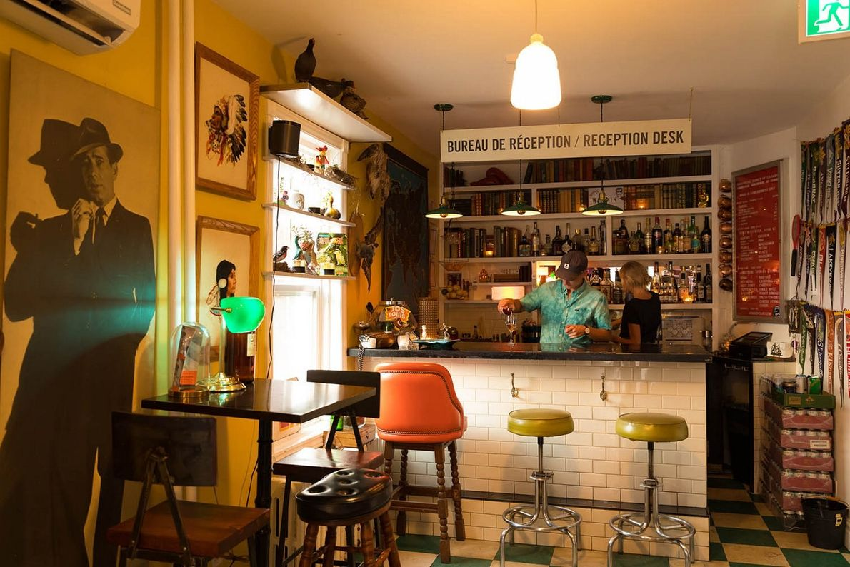 Ward 14 is a unique consignment shop and bar where you can enjoy a cocktail while ...