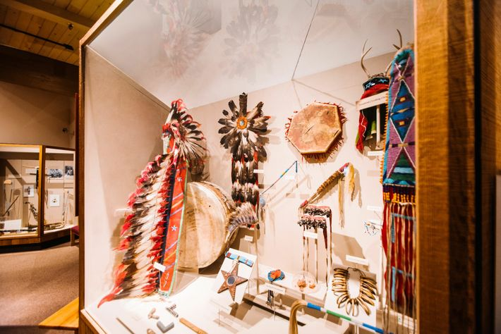 The Visitor Center at the Nez Perce National Historical Park in Spalding. Here, guests canget an ...
