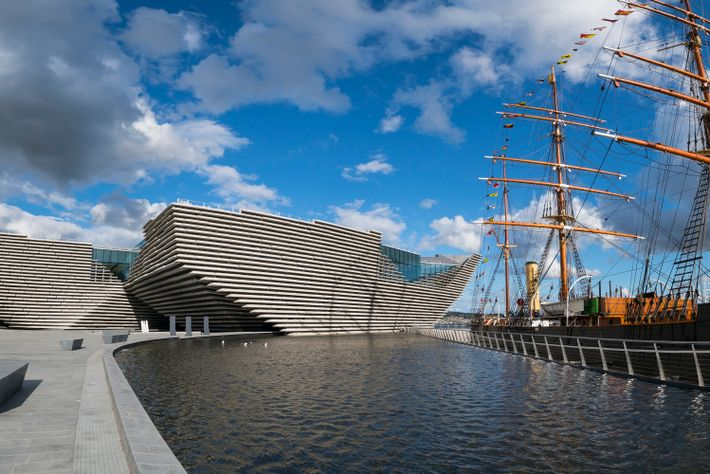 Despite having only opened in 2018, Dundee's already iconic V&A is Scotland's first design museum and ...