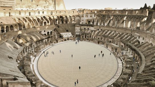 Set for completion in 2023, the 32,300sq ft floor at the Colosseum will be made up ...