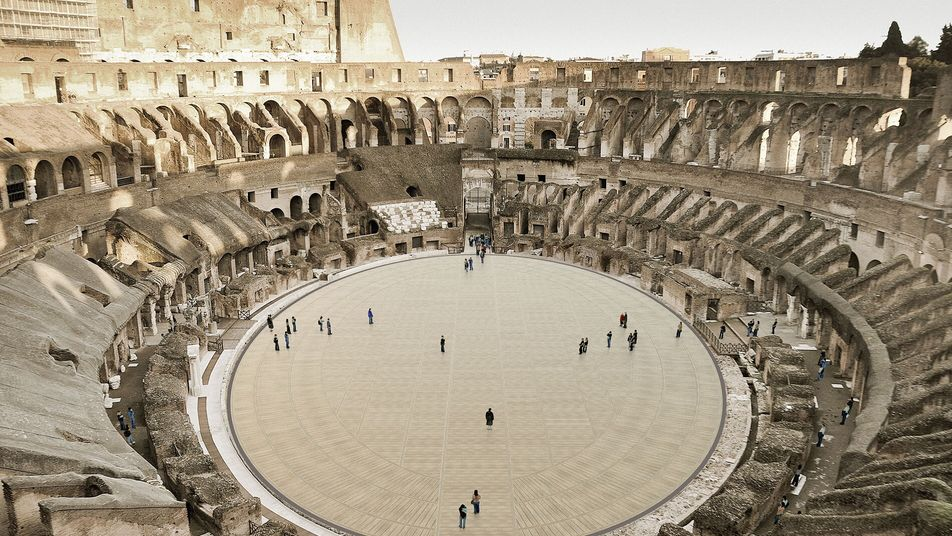 Five ancient sites getting a magnificent makeover, from Hadrian's Wall to the Colosseum