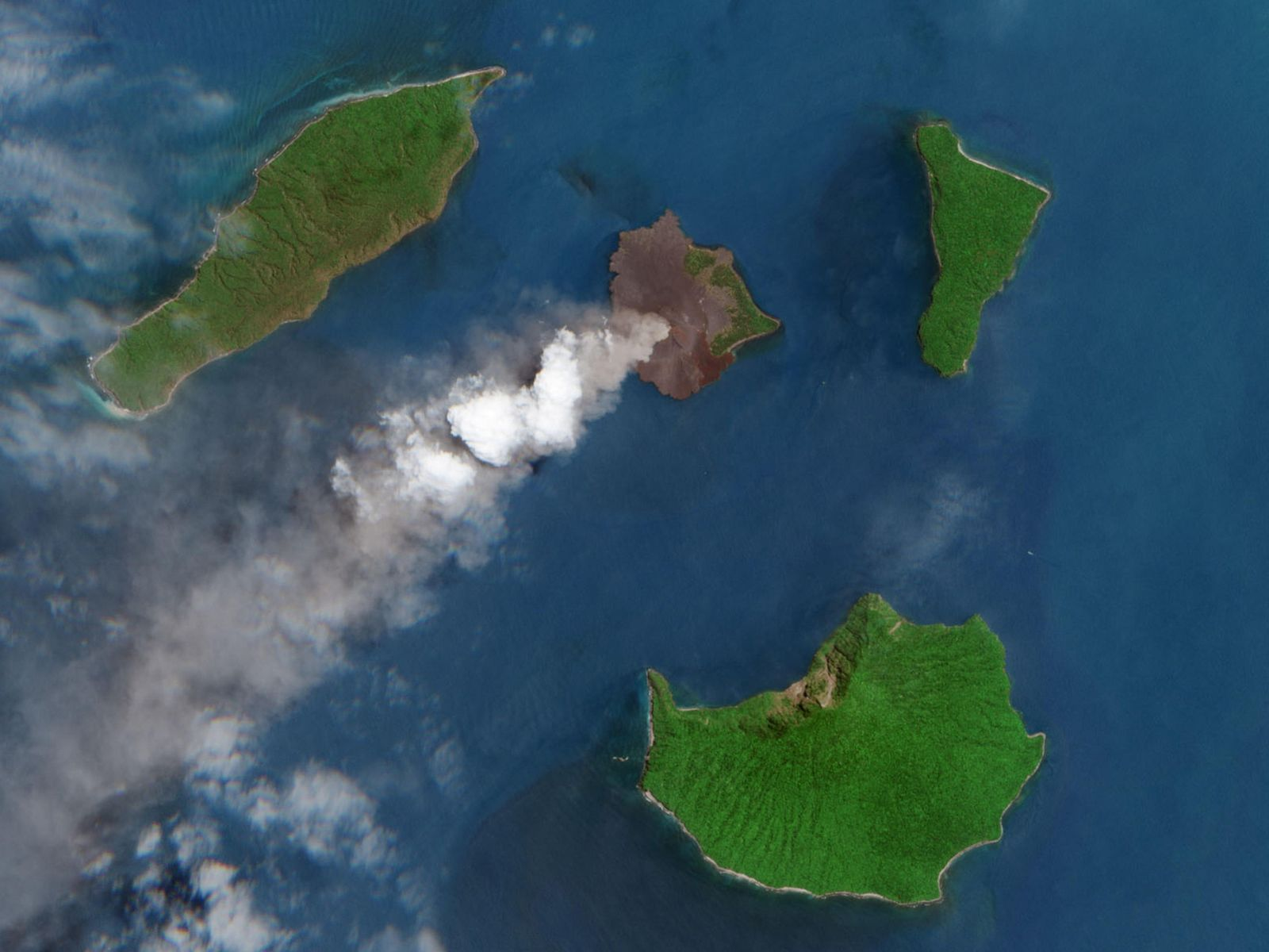 In September 2018, the MultiSpectral Instrument (MSI) on the European Space Agency's Sentinel-2 acquired this detailed ...