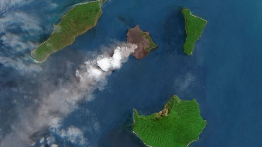 Volcanic eruption sparked a weeklong thunderstorm, and scientists want to know why