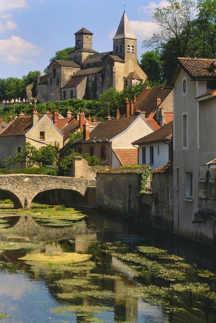 Burgundy's picturesque Châtillon-sur-Seine is the largest town in the park.