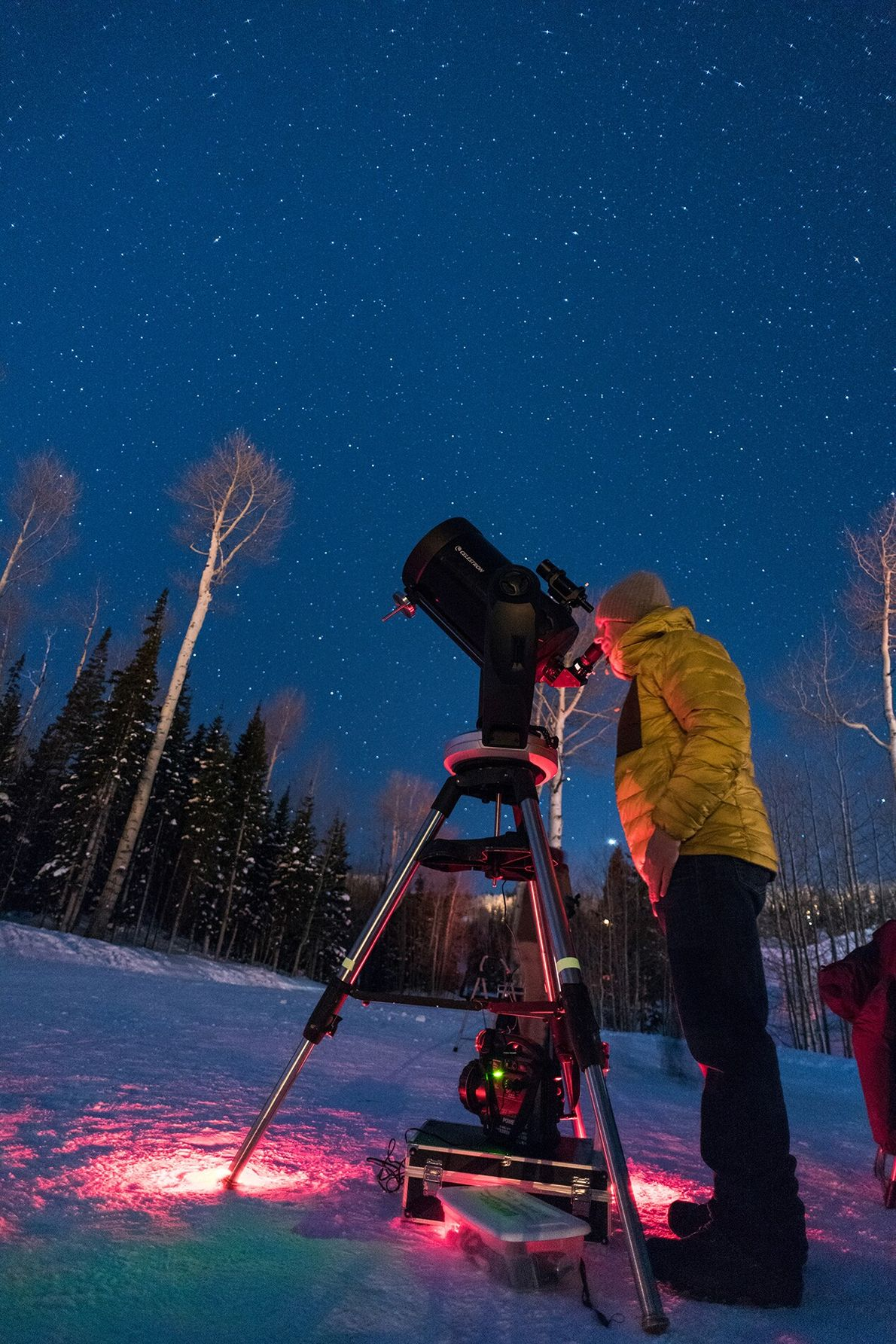 Every summer after nightfall, stargazers mill about Cedar Breaks' primary overlook, Point Supreme, eyes pointed to ...