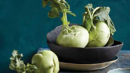 Chef Niklas Ekstedt's five ways to cook kohlrabi