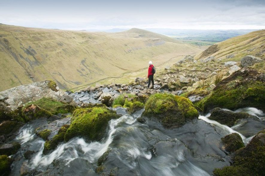 Near High Cup Nick, the Pennines. Image: Getty