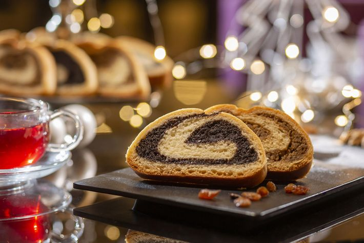 Christmas cookies at the Westin Zagreb, a five-star hotel in the centre of the Croatian capital.