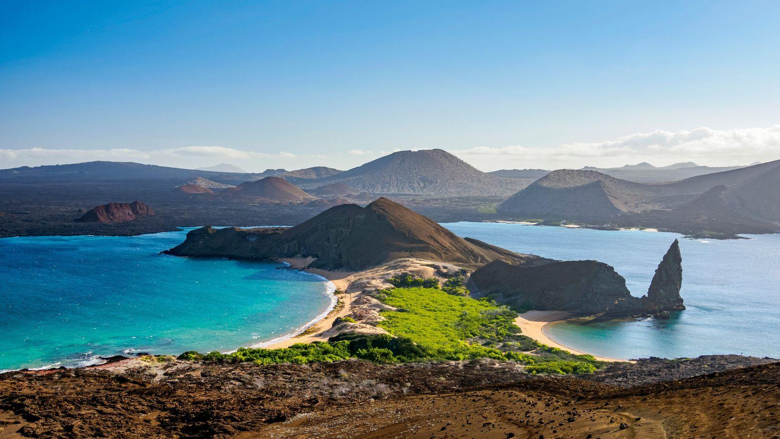 Bartolomé Island.