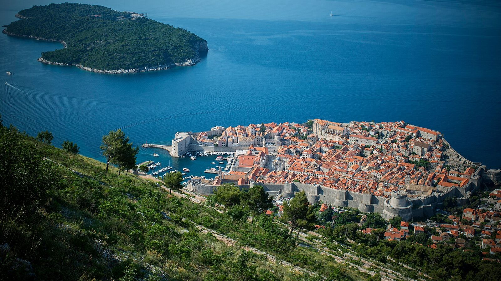 The Old Town ofDubrovnik, with its medieval walls overlooking the Adriatic,became popularas a filming location for ...