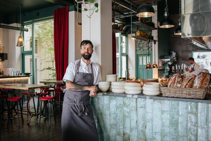 Sam Clark, owner an head chef of Central Fire Station Bistro.