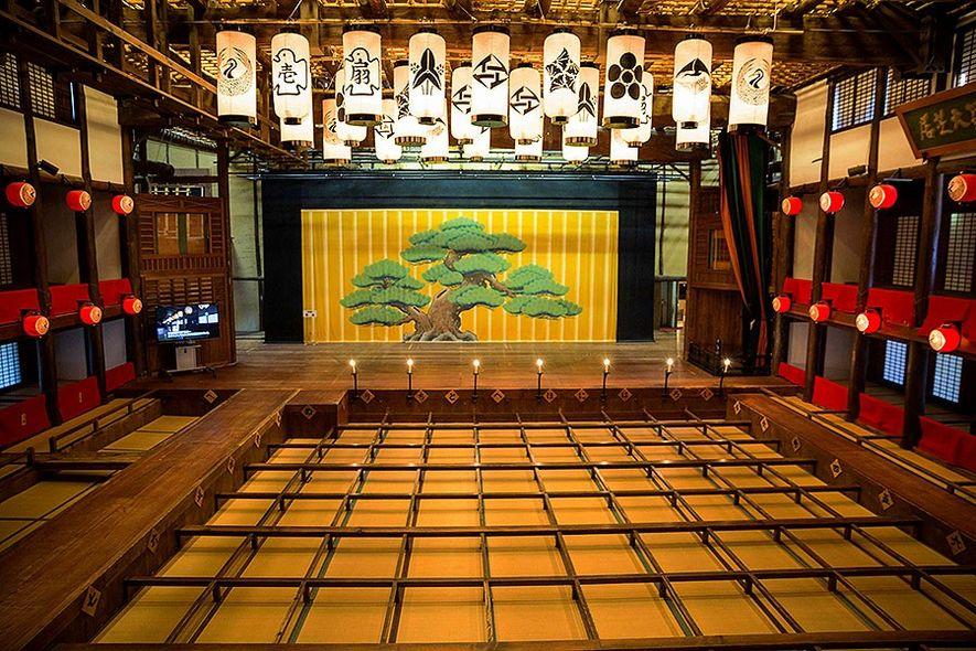 Kanamaru-za Kabuki playhouse, Kotohira