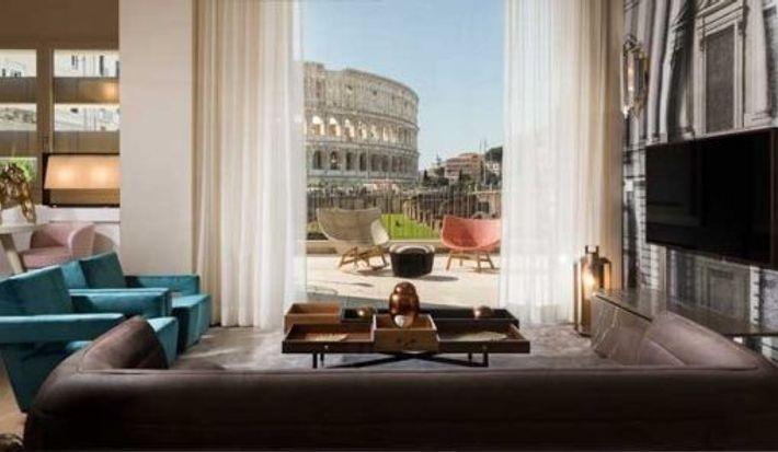 Grand View Colosseum Suite, Palazzo Manfredi, Rome