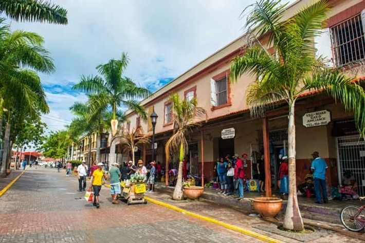 Historic buildings, Falmouth, Jamaica