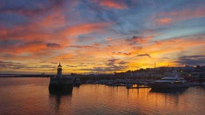 Sunset over Ramsgate