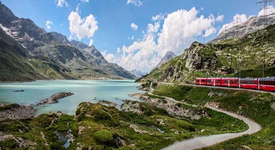 Bernina Pass, Swiss Alps