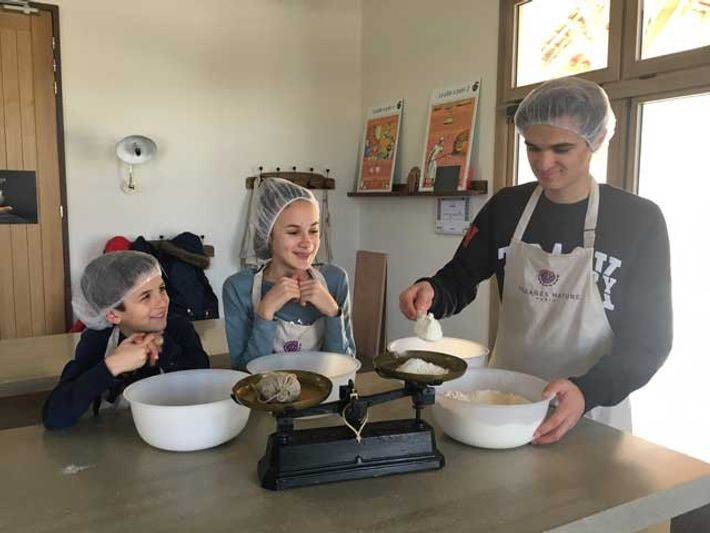 Bread-making at Villages Nature