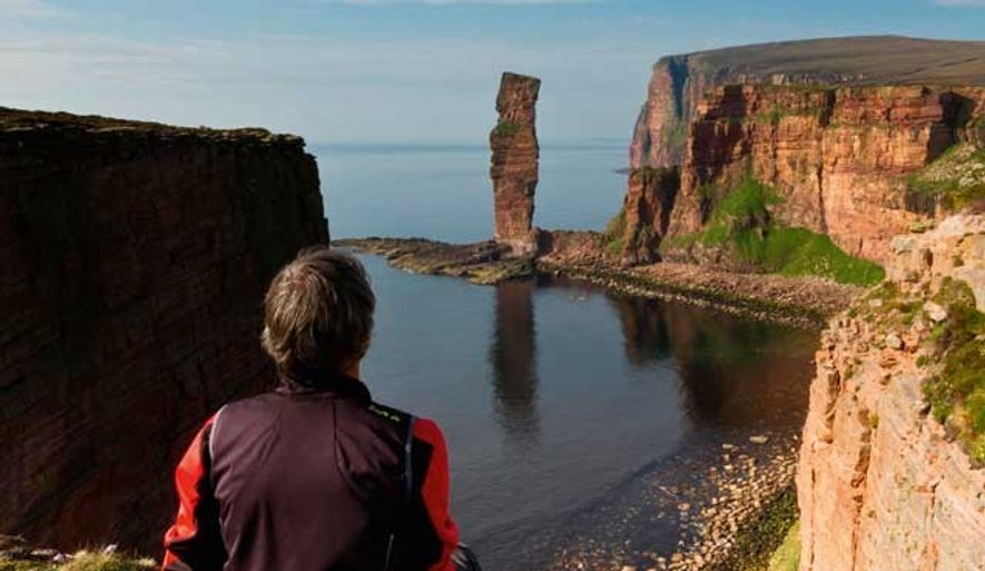 View towards the Old Man of Hoy